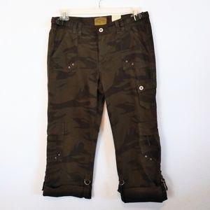 Z Cavaricci Military Crop Jeans